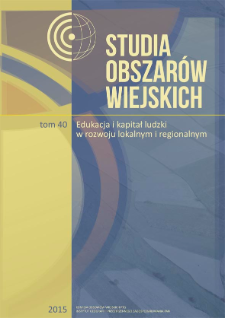 Obraz wsi i rolnictwa w polskich i angielskich podręcznikach do geografii = Image of countryside and agriculture in Polish and English geography textbooks