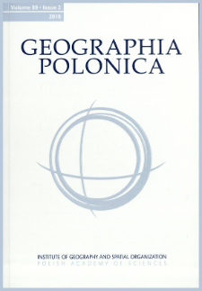 Selected problems of contemporary socio-spatial changes in peri-urban areas of the city of Łódź (Poland)
