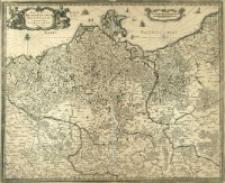 Electoratvs Brandenburgi, Mekelenburgi, Et maximæ Partis Pomeraniæ novissima Tabula