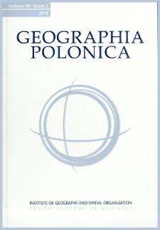 Geographia Polonica Vol. 89 No. 3 (2016), Contents