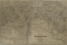 Karte des Türkischen Reichs in Asien