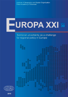 Challenges and threats of Ukrainian spatial development on the way to European integration