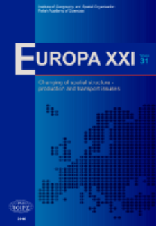 Europa XXI 31 (2016), Contents
