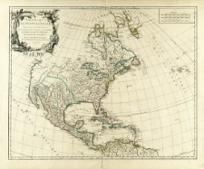 Amérique Septentrionale dressée sur les relations les plus modernes des voyageurs et navigateurs et divisée suivant les differentes possessions des Européens