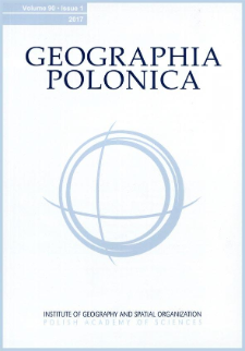 Geographia Polonica Vol. 90 No. 2 (2017), Spis treści