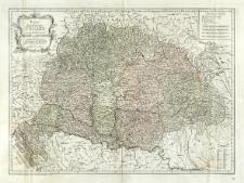 Karte von dem Königreiche Ungarn mit den Königreichen Kroatien und Sklavonien und dem Grossfürstenthum Siebenbürgen