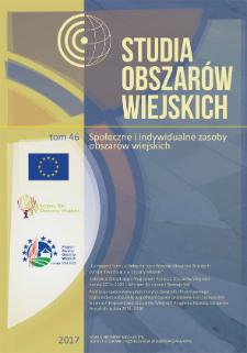 Potencjał rozwoju rolnictwa ispecjalizacja produkcji rolniczej wujęciu regionalnym wświetle koncepcji specjalizacji inteligentnych wPolsce = Potential of agriculture development and specialization ofagricultural production in regional dimension in the context ofsmart specializations in Poland