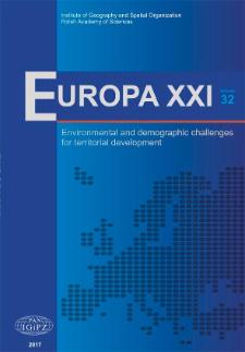 Europa XXI 32 (2017), Contents