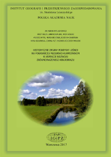 Historyczne zmiany pokrywy leśnej na pograniczu mazursko-kurpiowskim w aspekcie rozwoju zrównoważonego krajobrazu = Long-term forest cover changes in terms of landscape sustainability : a case of Masuria-Kurpie borderland