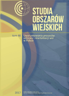 Odradzanie wsi? Przemiany ludnościowo-osadnicze na ziemi kłodzkiej w okresie powojennym = Rural revival? Changes in population and settlement pattern of the Kłodzko region in the post-war period