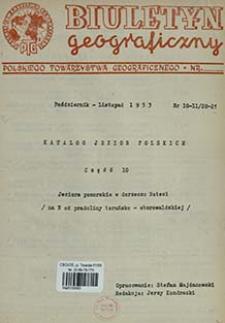 Katalog jezior polskich. Cz. 10, Jeziora pomorskie w dorzeczu Noteci (na N od pradoliny toruńsko-eberswaldzkiej)-