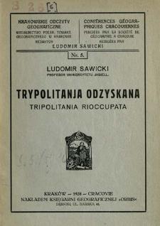 Trypolitanja odzyskana = Tripolitania rioccupata