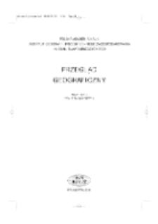 Przegląd Geograficzny T. 76 z. 4 (2004)