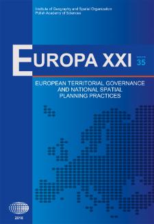 Europa XXI 35 (2018), Contents