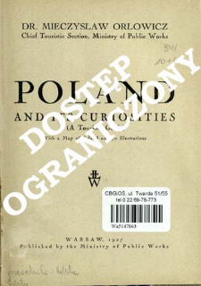 Poland and its curiosities : (a tourists' guide)