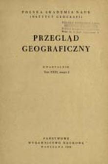 Przegląd Geograficzny T. 31 z. 2 (1959)