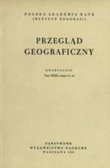 Przegląd Geograficzny T. 31 z. 3-4 (1959)