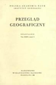 Przegląd Geograficzny T. 35 z. 3 (1963)