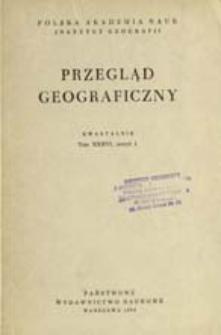 Przegląd Geograficzny T. 36 z. 1 (1964)