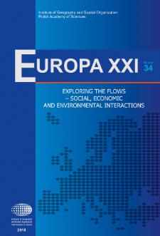 Europa XXI 34 (2018), Contents