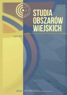 Usługi hotelowe na obszarach wiejskich w Polsce = Hotel infrastructure in the rural areas of Poland