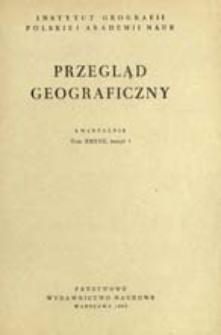 Przegląd Geograficzny T. 37 z. 1 (1965)