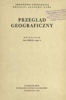Przegląd Geograficzny T. 37 z. 2 (1965)