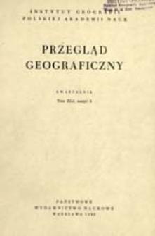 Przegląd Geograficzny T. 41 z. 3 (1969)