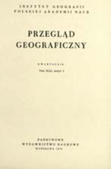 Przegląd Geograficzny T. 42 z. 4 (1970)