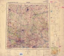Mapa Polski i krajów ościennych 1:500 000. Kraków M-34-I