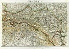 Mapa Galicyi