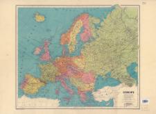 Europe : [mapa polityczna]