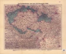 Velhagen & Klasing Karte der Sudetenländer