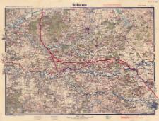 Paasche's Spezialkarten der Westfront (Belgien und Frankreich) : Maßstab 1:105 000. Blatt 5, Soissons