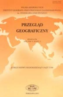 Przegląd Geograficzny T. 75 z. 2 (2003)