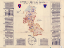 Bipartite Control Office : situation as at 1st. January 1948