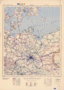 Railroad map of Germany 1:750,000. Sheet 2, Berlin