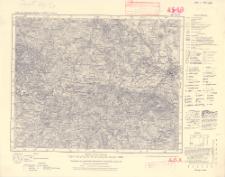 Karte des Deutschen Reiches 1:100 000, 445. Zittau