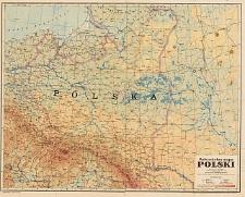 Mała szkolna mapa Polski : podziałka 1:2 500 000