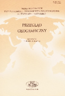 Przegląd Geograficzny T. 83 z. 1 (2011)