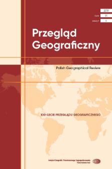 Przegląd Geograficzny T. 91 z. 4 (2019)