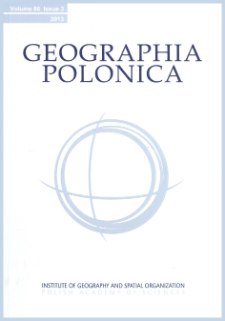 Geographia Polonica Vol. 93 No. 1 (2020)