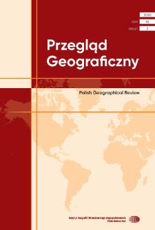 Przegląd Geograficzny T. 92 z. 2 (2020)