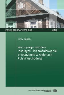 Prace Geograficzne = Geographical Studies / Polska Akademia Nauk. Instytut Geografii i Przestrzennego Zagospodarowania im. Stanisława Leszczyckiego