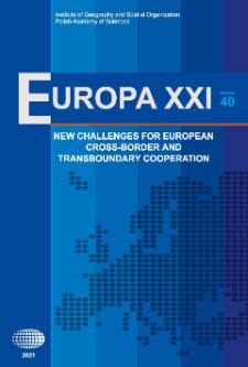 Europa XXI 40 (2021)