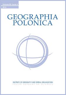 Geographia Polonica Vol. 85 No. 4 (2012)
