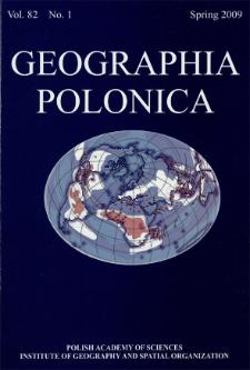Geographia Polonica Vol. 82 No. 1 (2009)