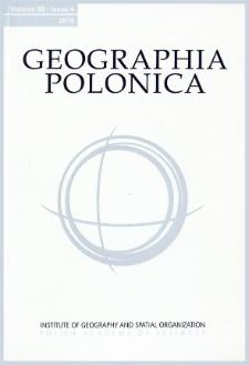 Geographia Polonica Vol. 88 No. 4 (2015)