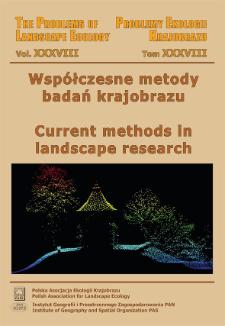 Współczesne metody badań krajobrazu = Current methods in landscape research