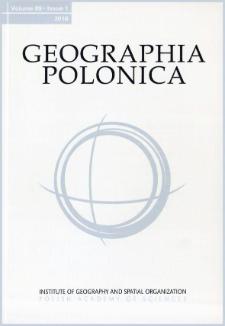 Geographia Polonica Vol. 89 No. 1 (2016)